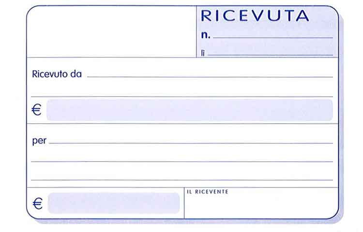 Ricevute Quota Associativa